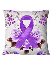 Alzheimer Awareness  Square Pillowcase thumbnail