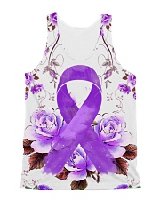 Alzheimer Awareness  All-over Unisex Tank thumbnail