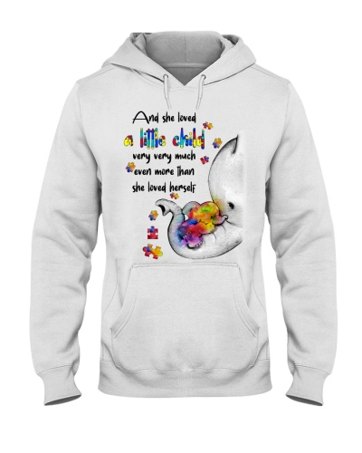 And she loved a little child - Autism Awareness