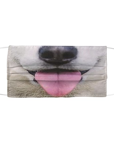 Cute Smiling dog Mouth