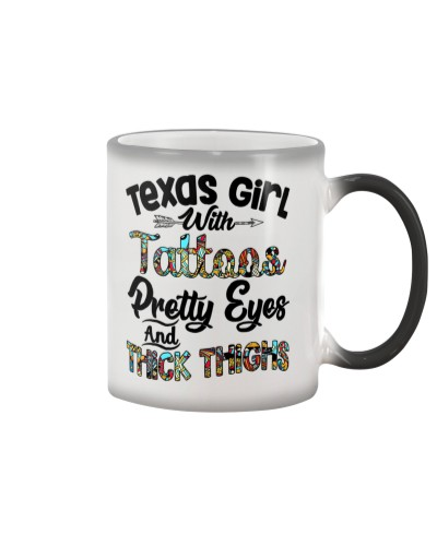 Texas girl with tattoos
