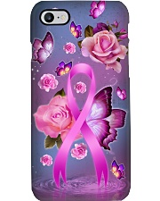 Breast cancer Awareness - Buttefly and Rose Phone Case i-phone-7-case