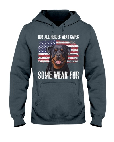 Some heroes wear fur