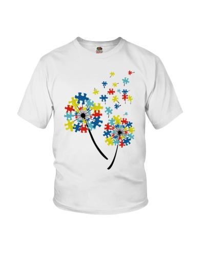 Dandelion flower Puzzles - Autism Awareness
