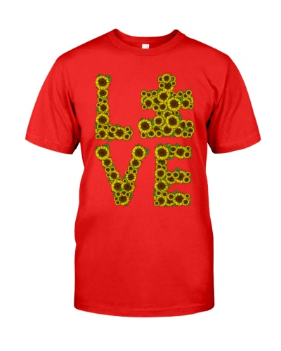 Love Sunflower - Autism Awareness
