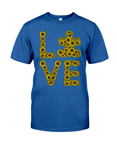 Love Sunflower - Autism Awareness