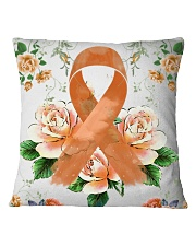Multiple Scerosis Awareness  Square Pillowcase thumbnail