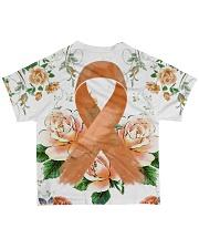 Multiple Scerosis Awareness  All-over T-Shirt back