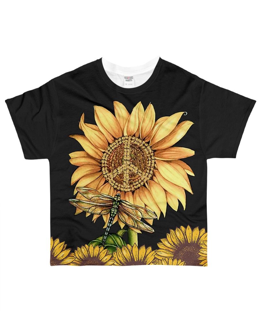 Hippie Sunflower All-over T-Shirt