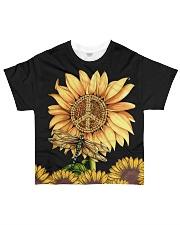 Hippie Sunflower All-over T-Shirt front