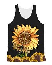 Hippie Sunflower All-over Unisex Tank thumbnail