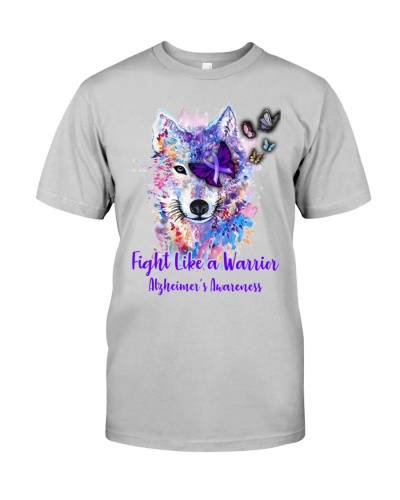 Alzheimer Awareness - Fight like a warrior