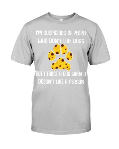 I trust a dog