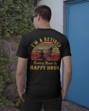 I'm Retired Every Hour Is Happy Hour Classic T-Shirt apparel-classic-tshirt-lifestyle-22