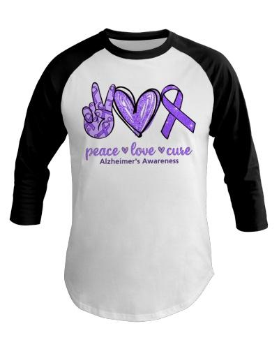Peace Love Cure - Alzheimer's Awareness