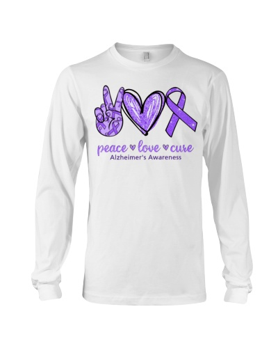 Peace Love Cure - Alzheimer's Awareness