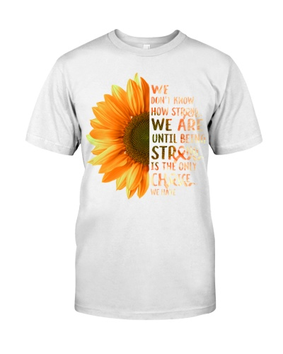 We don't know - Multiple Sclerosis Awareness