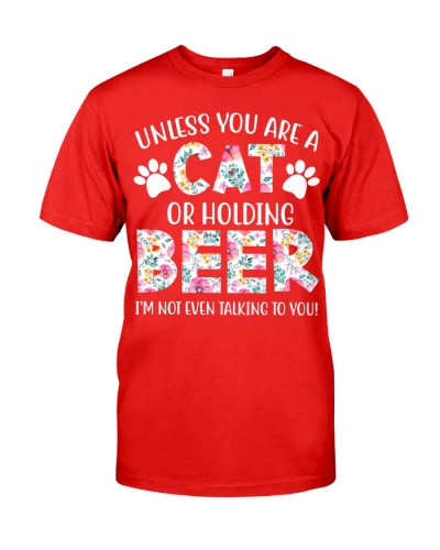 Unless you are a cat or holding beer