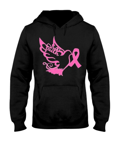 Faith bird - Breast cancer Awareness