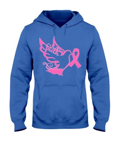 Faith bird - Breast cancer Awareness