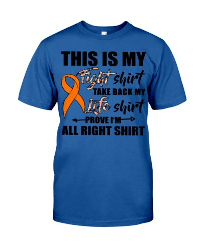 My fight shirt - Multiple Sclerosis Awareness