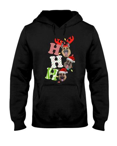 Ho ho ho - Funny German Shepherd