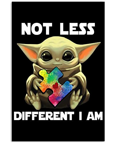 Not lesss Different I am Poster