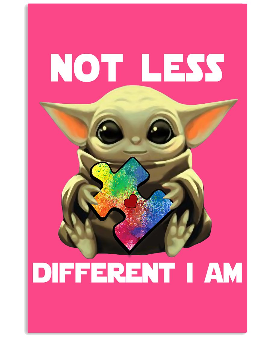 Not lesss Different I am Poster 11x17 Poster