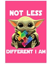 Not lesss Different I am Poster 11x17 Poster front