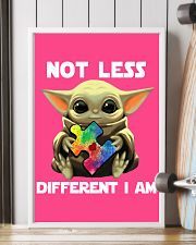 Not lesss Different I am Poster 11x17 Poster lifestyle-poster-4