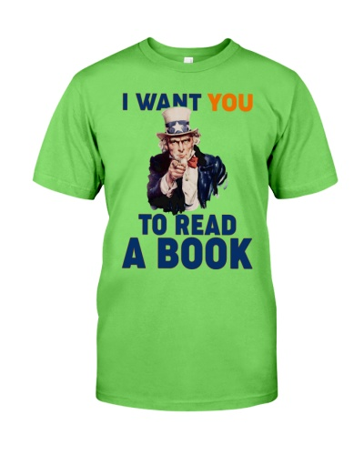 I want you to read a book