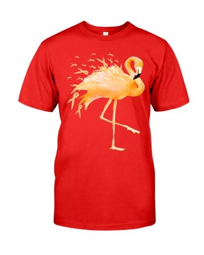 Flamingo - Childhood cancer Awareness