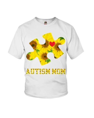 Autism Mom Sunflower