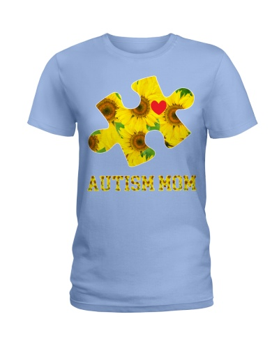 Autism Mom Sunflower