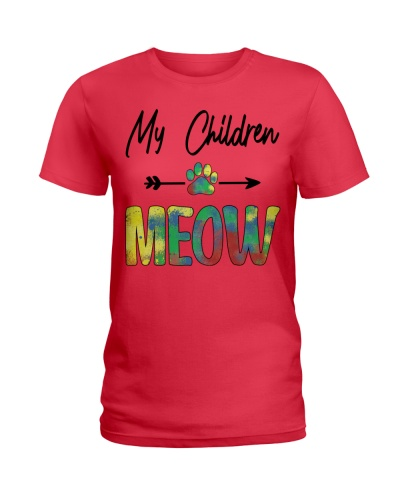 My children meow - Cat