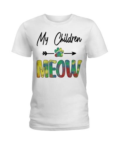 My children meow - Cat