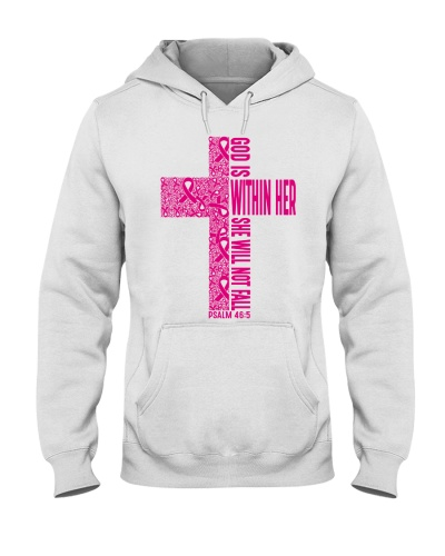 God is within her - Breast cancer Awareness