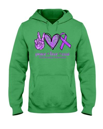 Peace Love Cure - Fibromyalgia Awareness