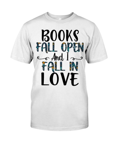 Books fall open and I fall in love