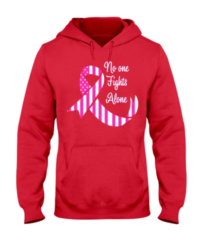 No one fight alone - Breast cancer Awareness