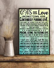 Cats are love 11x17 Poster lifestyle-poster-3