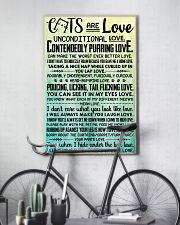 Cats are love 11x17 Poster lifestyle-poster-7