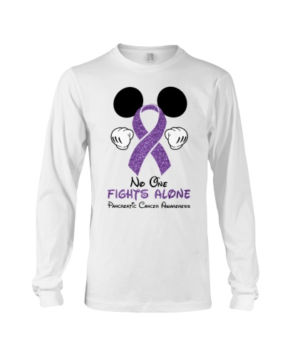 No one fights alone - Pancreatic cancer Awareness