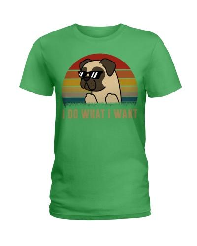 I do what I want - Pug