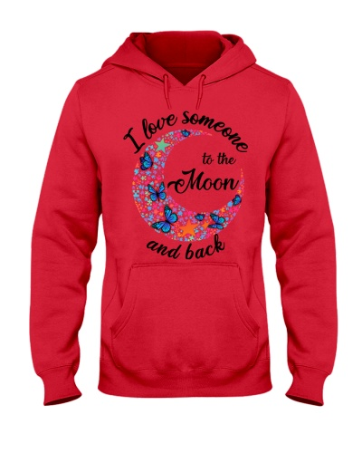 I love someone to the moon and back