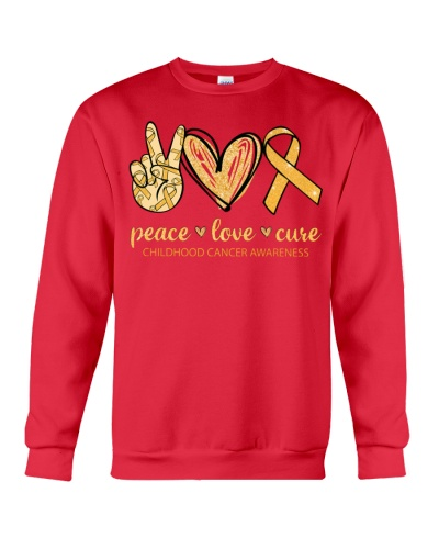 Peace Love Cure - Childhood cancer Awareness
