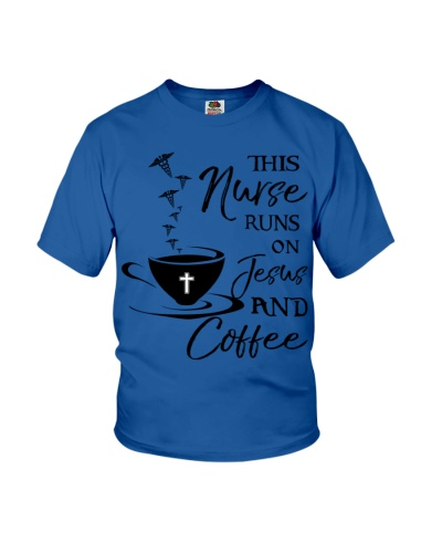 Nurse runs on Jesus and Coffee