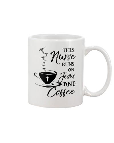Nurse runs on Jesus and Coffee