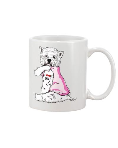 Cute West Highland White Terrier Dog