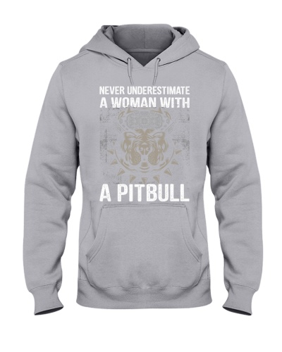 Never underestimate a woman with a pitbull